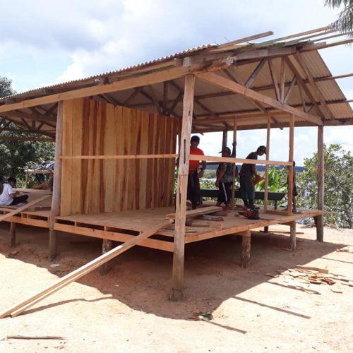 Estudantes canadenses inicio construcao7
