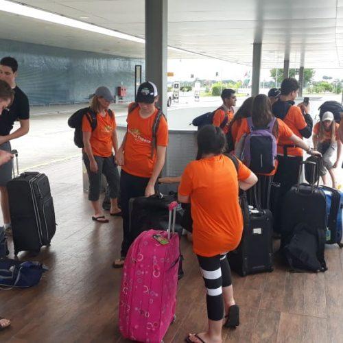 estudantes Manaus embarque